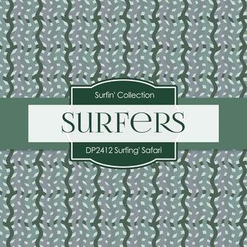 Digital Papers - Surfin' Safari (DP2412)