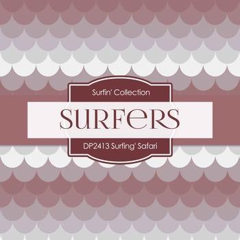 Digital Papers - Surfin' Safari (DP2413)