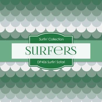 Digital Papers - Surfin' Safari (DP406)