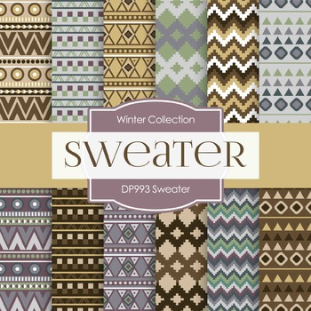 Digital Papers - Sweater (DP993)