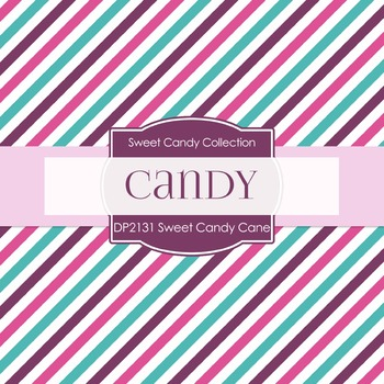 Digital Papers - Sweet Candy Cane (DP2131)