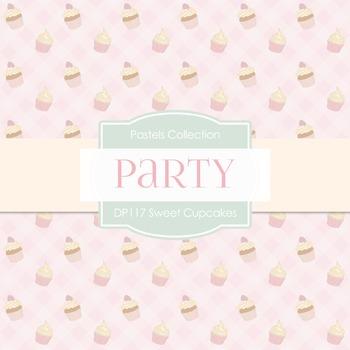 Digital Papers - Sweet Cupcakes (DP117)