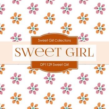 Digital Papers - Sweet Girl (DP1129)