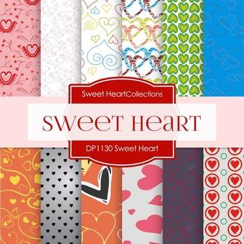 Digital Papers - Sweet Heart (DP1130)