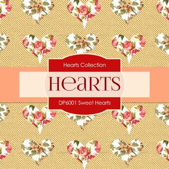 Digital Papers - Sweet Hearts (DP6001)