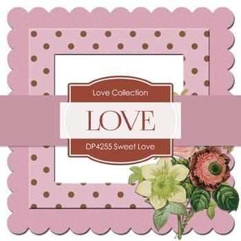 Digital Papers - Sweet Love (DP4255)
