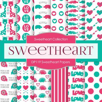 Digital Papers - Sweetheart Papers (DP119)