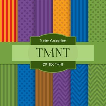 Digital Papers - TMNT (DP1800)