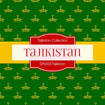 Digital Papers - Tajikistan (DP6323)