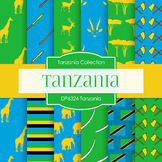 Digital Papers - Tanzania (DP6324)