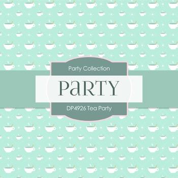 Digital Papers - Tea Party (DP4926)