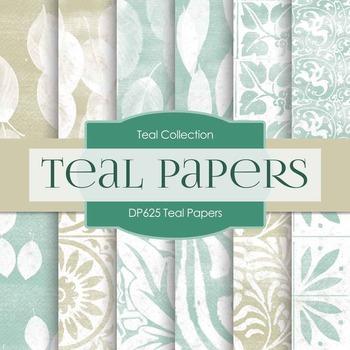 Digital Papers - Teal Papers (DP625)