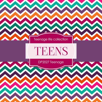 Digital Papers - Teenage (DP2027)