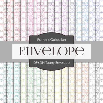 Digital Papers - Teeny Envelope (DP6284)