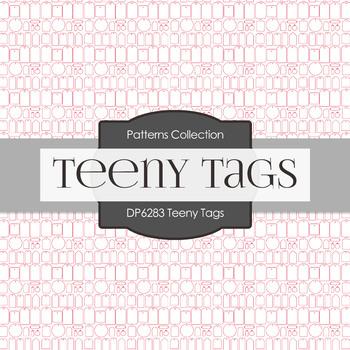 Digital Papers - Teeny Tags (DP6283)