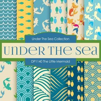 Digital Papers - The Little Mermaid (DP1140)