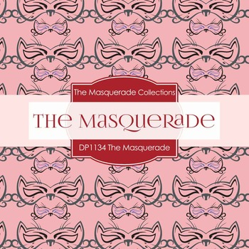 Digital Papers - The Masquerade (DP1134)