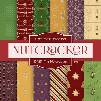Digital Papers - The Nutcracker (DP294)