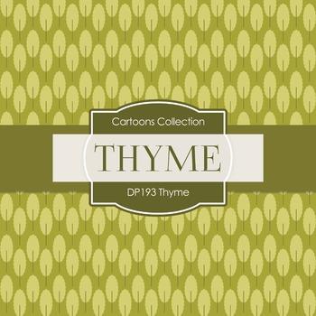 Digital Papers - Thyme (DP193)