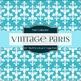 Digital Papers - Tiffany Blue Vintage Paris (DP1786)