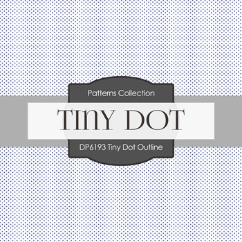 Digital Papers - Tint Dot Outline (DP6193)