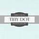 Digital Papers - Tint Dot Outline (DP6193)