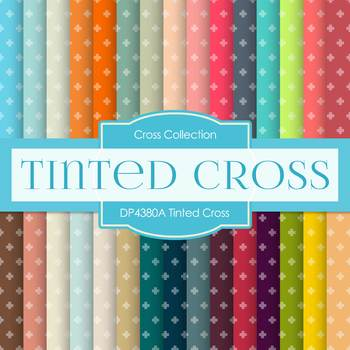 Digital Papers - Tinted Cross (DP4380A)