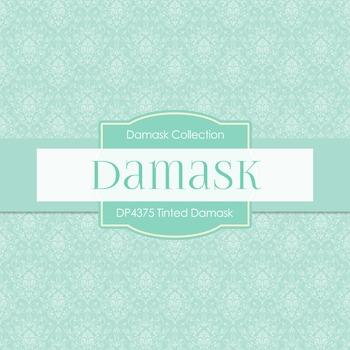 Digital Papers - Tinted Damask (DP4375)