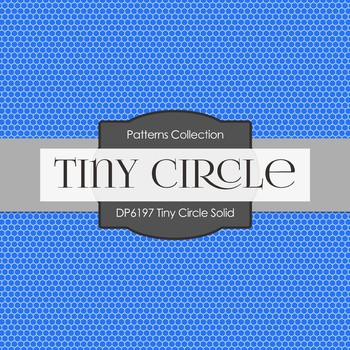Digital Papers - Tiny Circle Solid (DP6197)