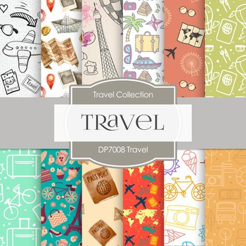 Digital Papers - Travel (DP7008)