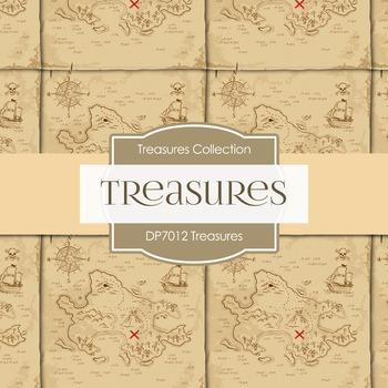 Digital Papers - Treasures (DP7012)
