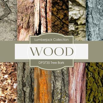 Digital Papers - Tree Bark (DP3735)