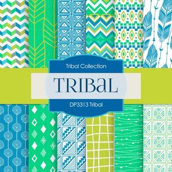 Digital Papers - Tribal (DP3313)