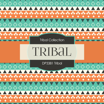 Digital Papers - Tribal (DP3381)