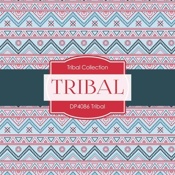 Digital Papers - Tribal (DP4086)