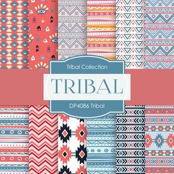 Digital Papers - Tribal (DP4086)