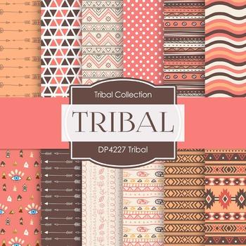Digital Papers - Tribal (DP4227)