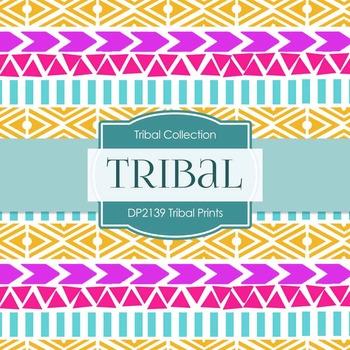 Digital Papers - Tribal Prints (DP2139)