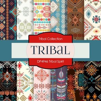 Digital Papers - Tribal Spirit (DP4946)