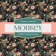 Digital Papers - Tropical Monkey (DP6807)