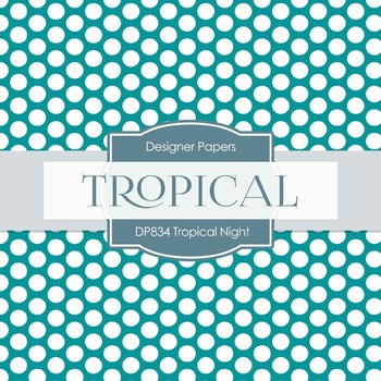Digital Papers - Tropical Night (DP834)