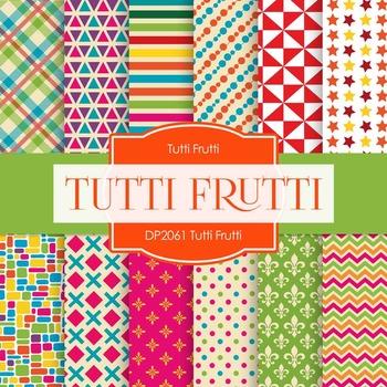 Digital Papers - Tutti Frutti (DP2061)