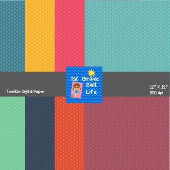 Digital Papers - Twinkle