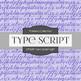 Digital Papers - Type Script Light (DP6281)