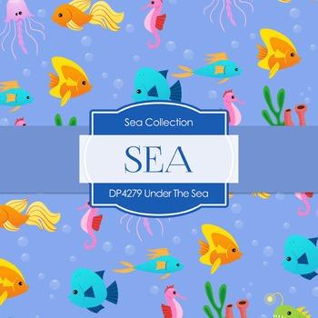 Digital Papers - Under The Sea (DP4279)