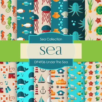Digital Papers - Under The Sea (DP4936)
