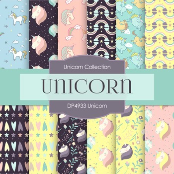 Digital Papers - Unicorn (DP4933)