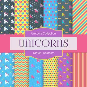 Digital Papers - Unicorns (DP3361)