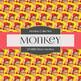 Digital Papers - Urban Monkey (DP6808)