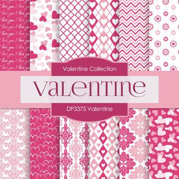 Digital Papers - Valentine (DP3375)